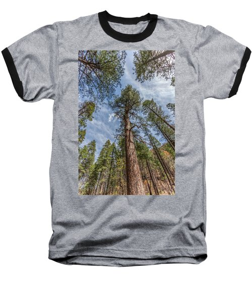 Pine Cathedral On The West Fork Baseball T-Shirt