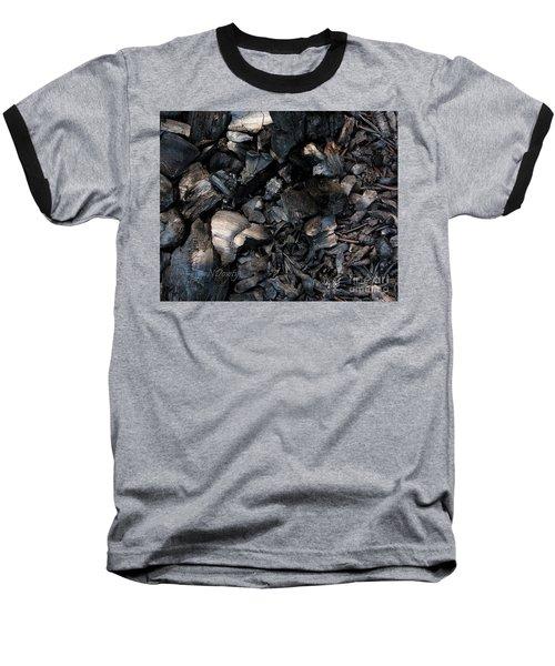 Pine Cone Cinders Baseball T-Shirt