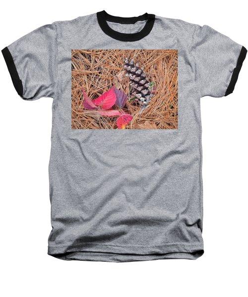 Pine Cone  Baseball T-Shirt