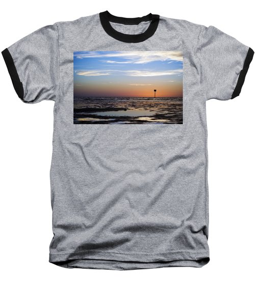 Pine Island Sunset Baseball T-Shirt