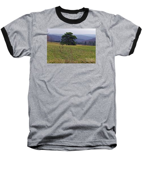 Pine On Sentry Baseball T-Shirt by Christian Mattison