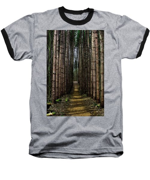 Pine Path  Baseball T-Shirt
