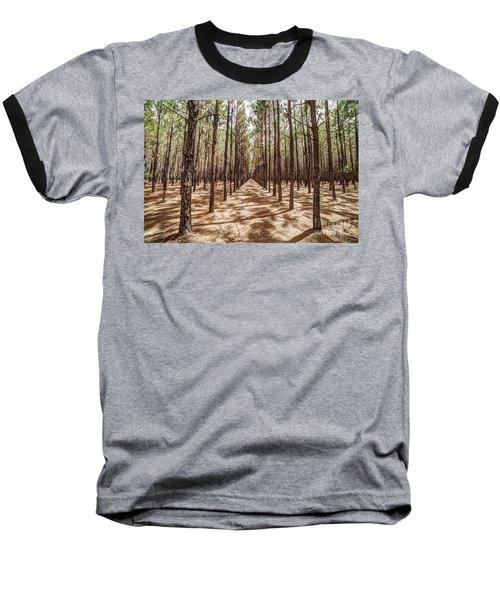Pine Plantation Wide Color Baseball T-Shirt