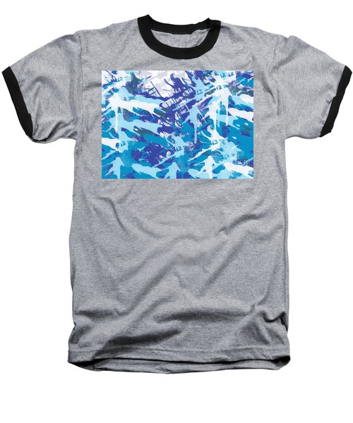 Pine Trees Baseball T-Shirt by Trilby Cole