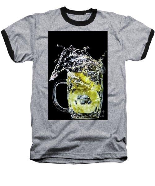 Pineapple Splash Baseball T-Shirt