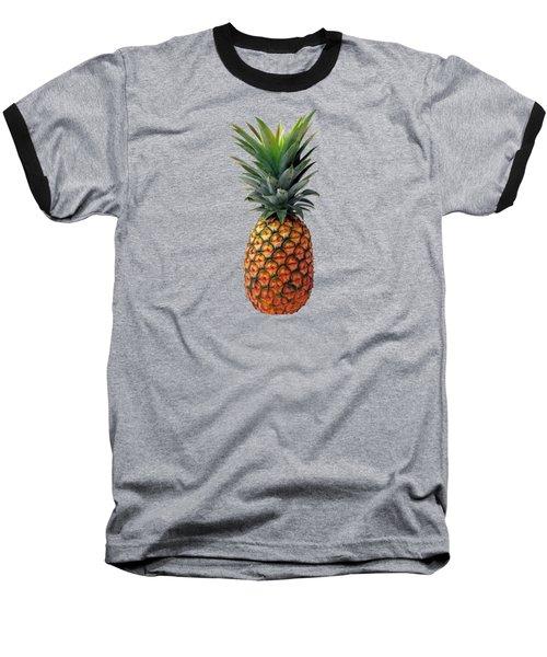 Pineapple Baseball T-Shirt by T Shirts R Us -