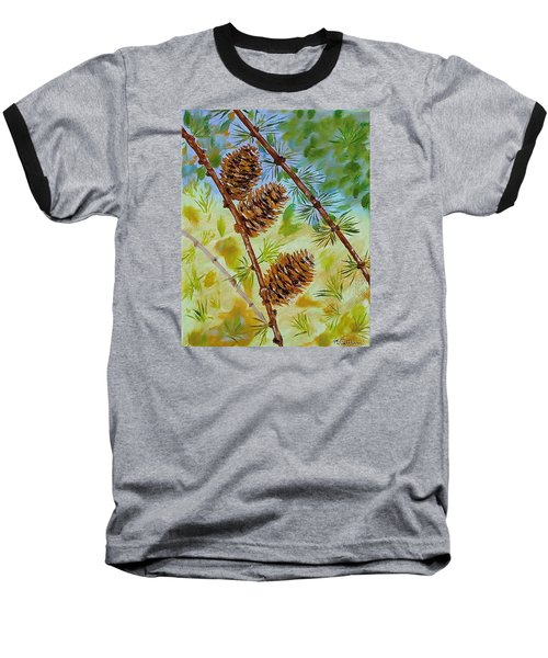 Pinecones  Baseball T-Shirt