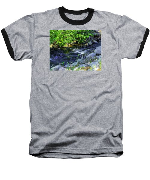Pinecones Sage And Slow Moving Water Baseball T-Shirt