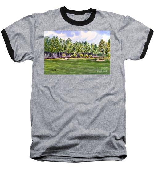 Pinehurst Golf Course 17th Hole Baseball T-Shirt