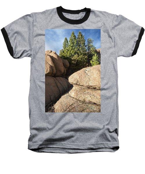 Pines In Granite Baseball T-Shirt