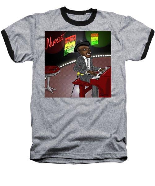 Pinetop Perkins Baseball T-Shirt