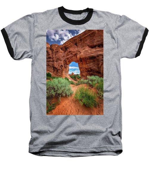 Pinetree Arch Baseball T-Shirt