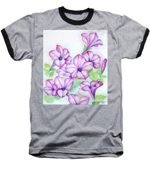 Pink And Purple Baseball T-Shirt