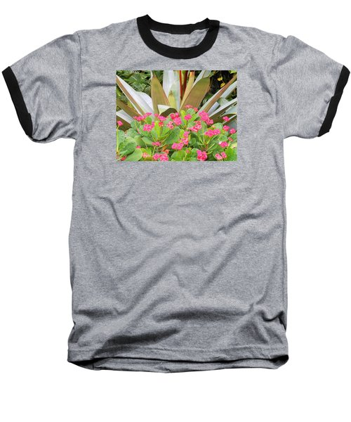 Baseball T-Shirt featuring the photograph Pink And Spiky by Kay Gilley