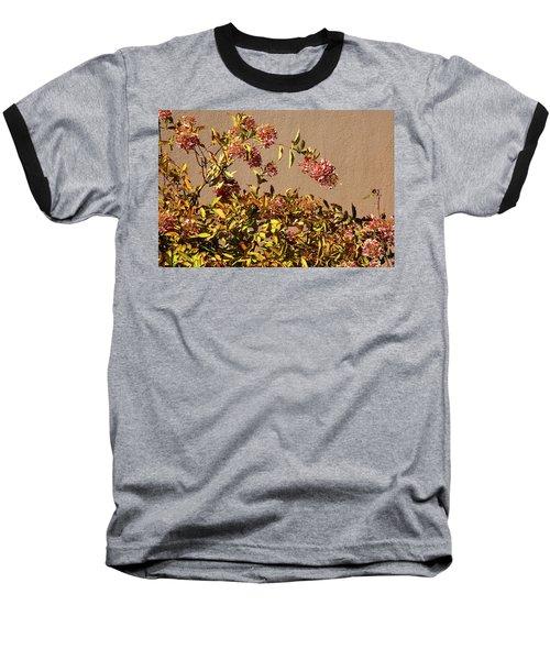 Pink Autumn Baseball T-Shirt