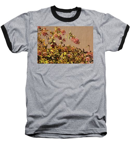 Pink Autumn Baseball T-Shirt