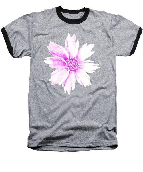 Pink Bloom Baseball T-Shirt