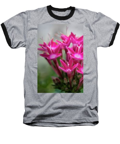 Baseball T-Shirt featuring the photograph Pink Blossoms by James Woody