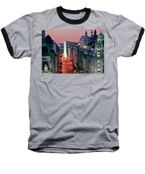 Pink Buenos Aires  Baseball T-Shirt