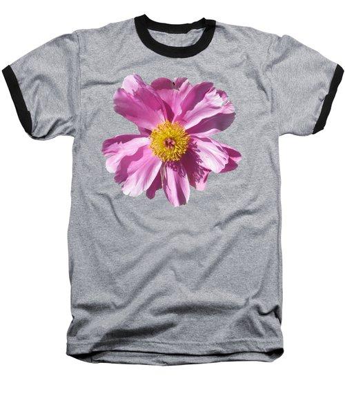 Pink Burst Baseball T-Shirt