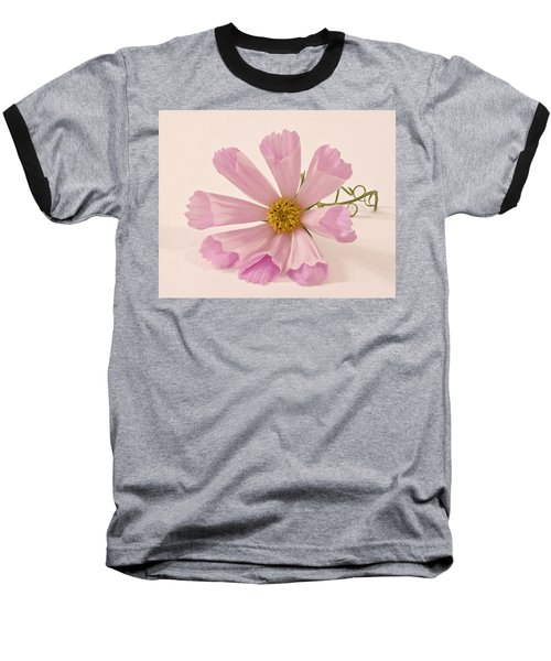 Pink Cosmo - Sea Shell Macro Baseball T-Shirt