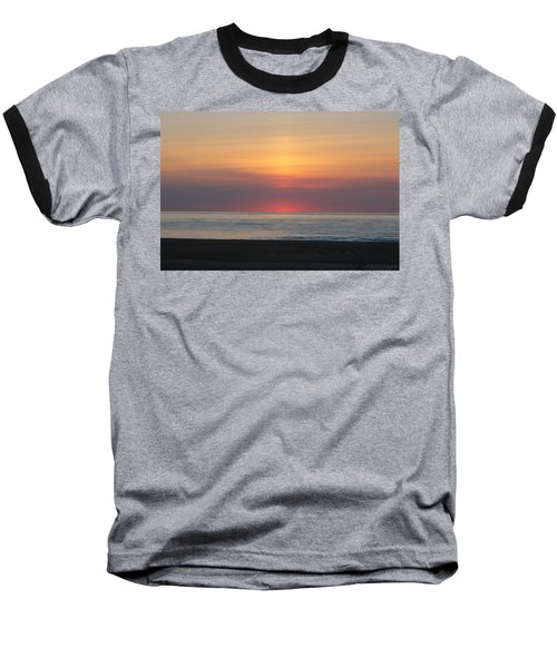 Pink Dawn Baseball T-Shirt