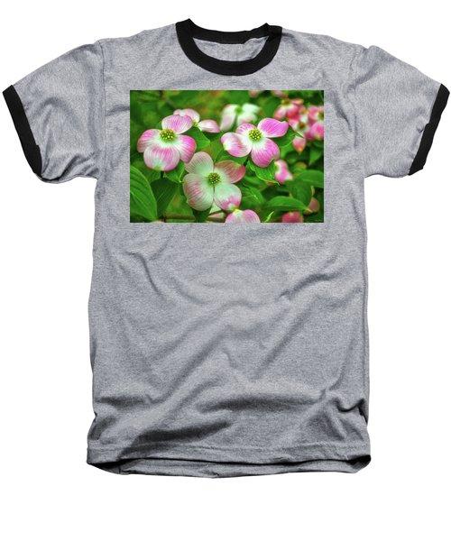 Pink Dogwoods 003 Baseball T-Shirt