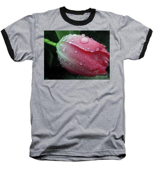 Pink Drops #2 Baseball T-Shirt