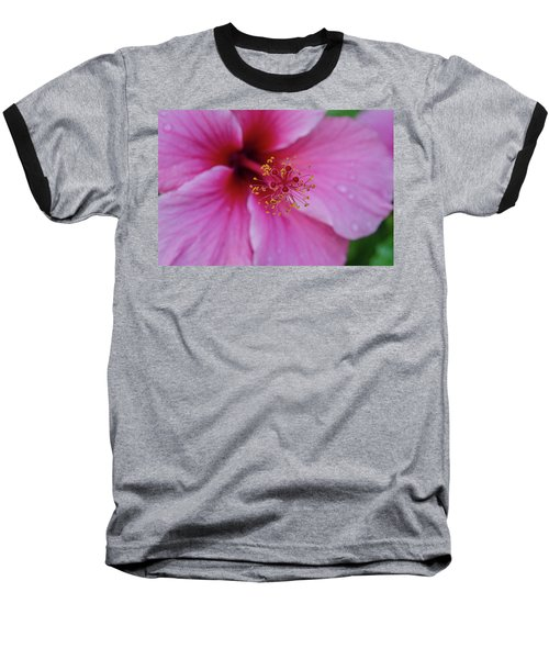Pink Flower II Baseball T-Shirt