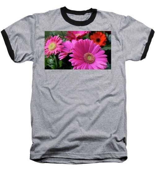 Baseball T-Shirt featuring the photograph Pink Flowers by Brian Jones