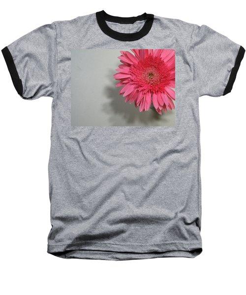 Pink Gerbera Baseball T-Shirt