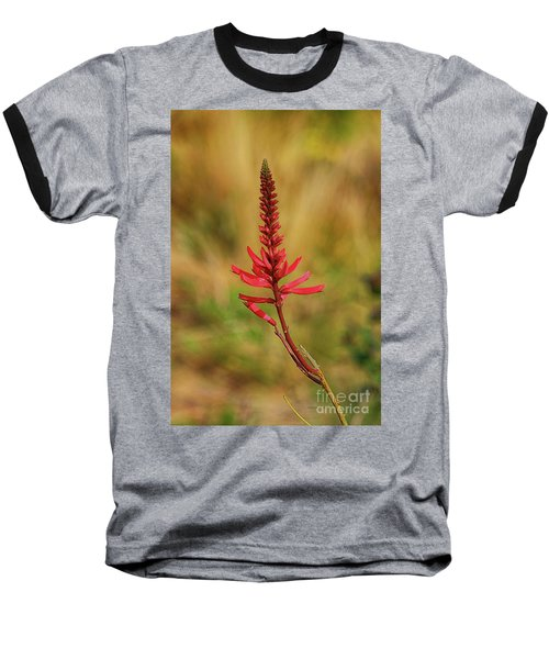 Baseball T-Shirt featuring the photograph Pink Glory by Deborah Benoit