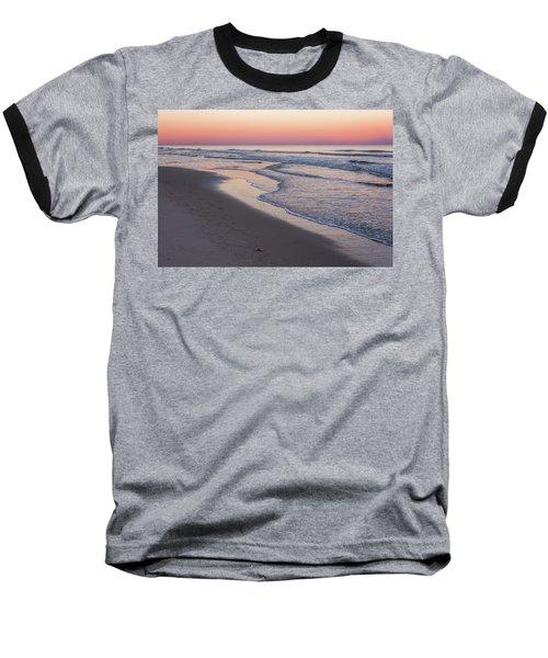 Pink Glow Seaside New Jersey 2017 Baseball T-Shirt