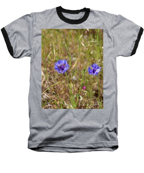 Baseball T-Shirt featuring the photograph Pink In Between by Marie Neder