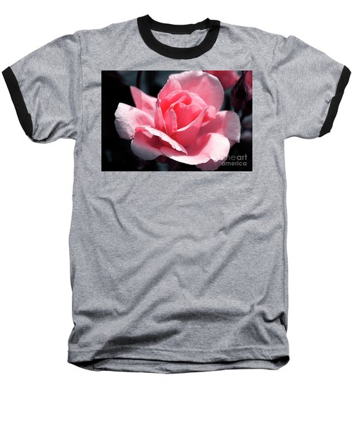 Pink In Light And Shadow Baseball T-Shirt