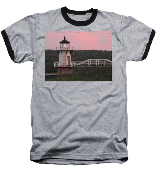 Pink In The Morning Baseball T-Shirt