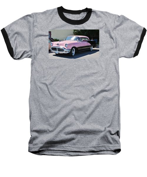 Baseball T-Shirt featuring the photograph Pink Is A Color by Al Fritz