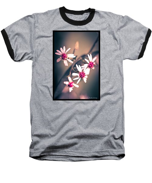 Baseball T-Shirt featuring the photograph Pink by Michaela Preston