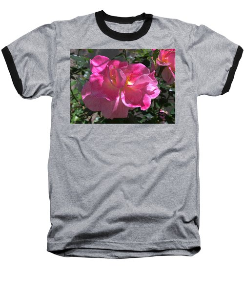 Baseball T-Shirt featuring the photograph Pink Passion by Daniel Hebard