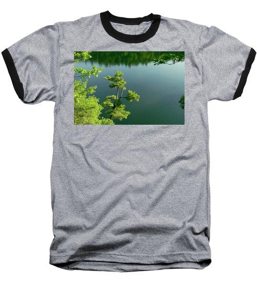 Pink Pine Baseball T-Shirt