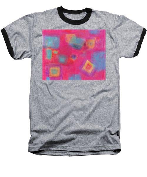 Pink Play Baseball T-Shirt by Susan Stone