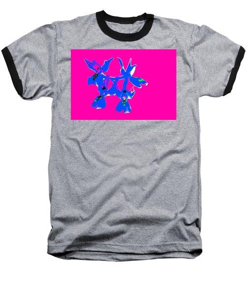 Pink Provence Orchid Baseball T-Shirt