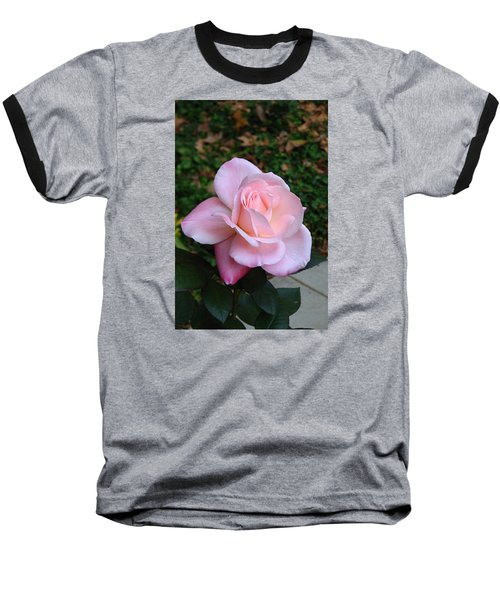 Baseball T-Shirt featuring the photograph Pink Rose by Carla Parris