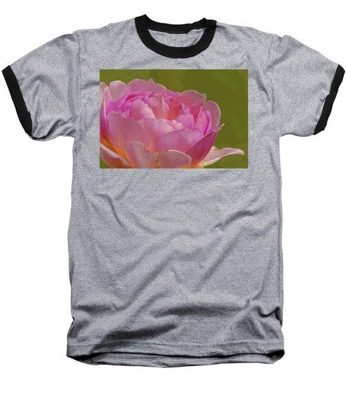 Pink Rose #d3 Baseball T-Shirt