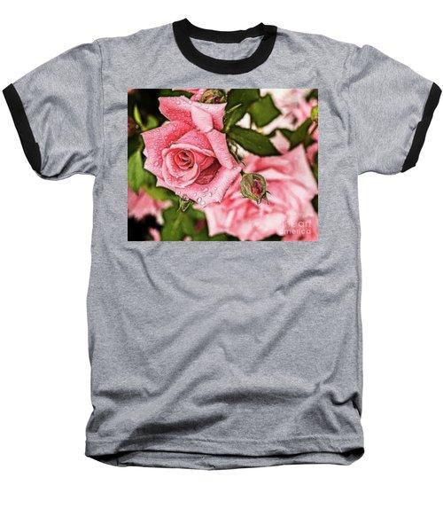 Pink Serenity Baseball T-Shirt