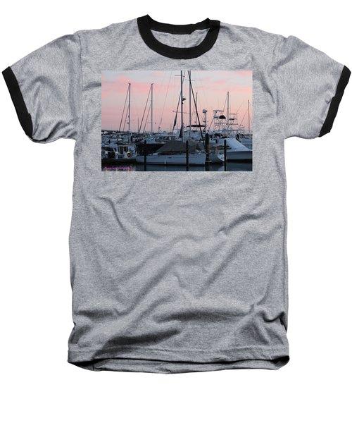 Pink Skies Baseball T-Shirt