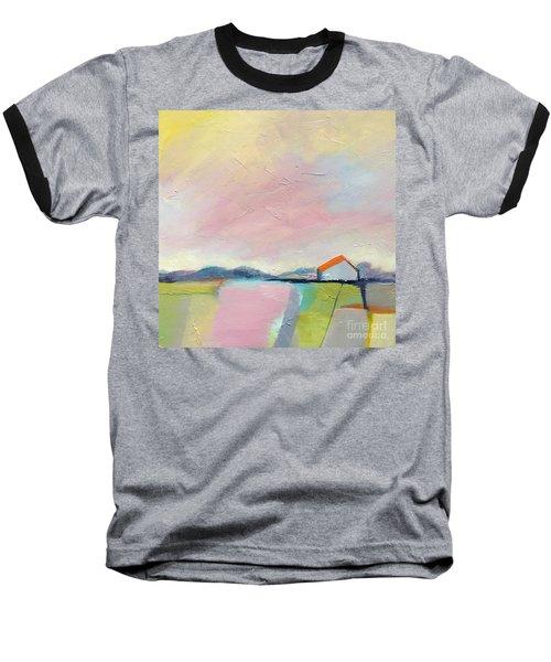 Pink Sky Baseball T-Shirt