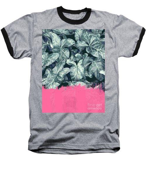 Pink Sorbet On Jungle Baseball T-Shirt