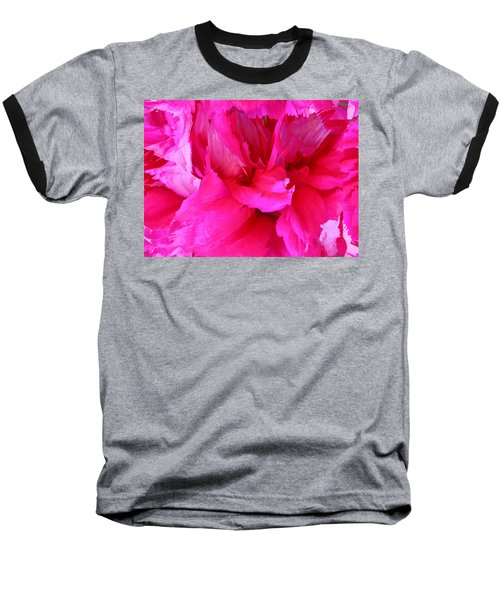Pink Splash Baseball T-Shirt