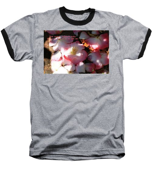 Baseball T-Shirt featuring the photograph Pink Survivor by Dennis Baswell